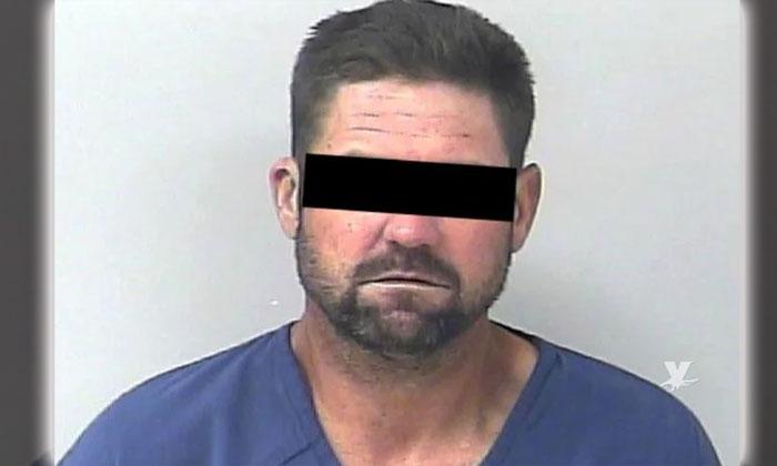 Fue liberado de prisión y es arrestado minutos después de haber salido