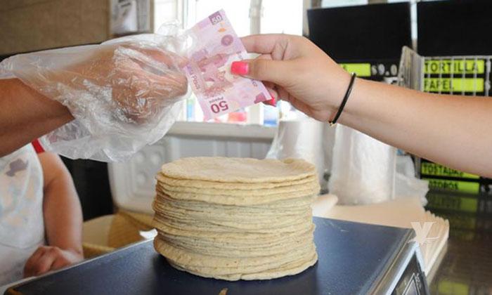 El aumento de precio al kilo de tortillas ya es excesivo, hoy en día llega a costar hasta 22 pesos