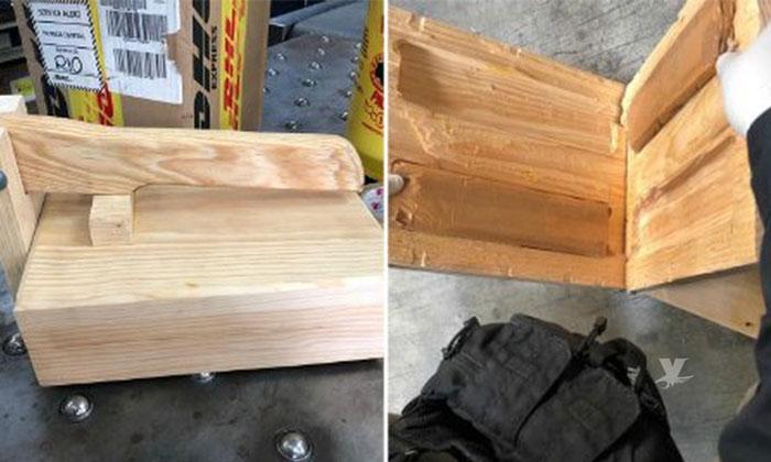 Encuentran en Tijuana cargamento de heroína dentro de prensa para hacer tortillas