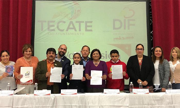 Gobierno Municipal de Tecate y World Visión firman convenio para prevenir el maltrato infantil