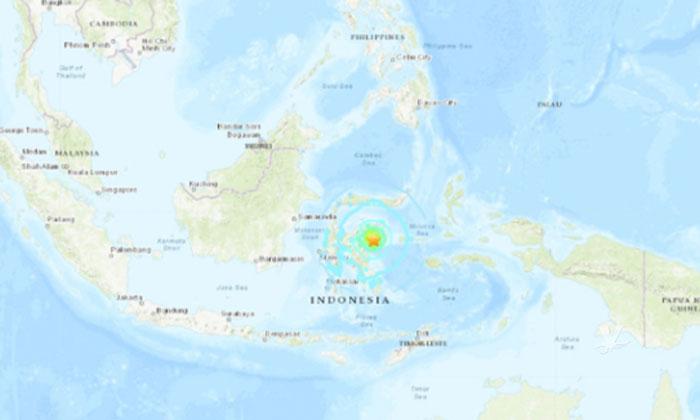 Sismo de 6.8 sacude a Indonesia y activa alerta de Tsunami