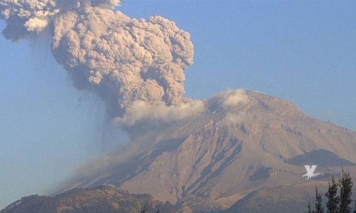 El Popocatépetl sigue en Alerta Amarilla Fase 3