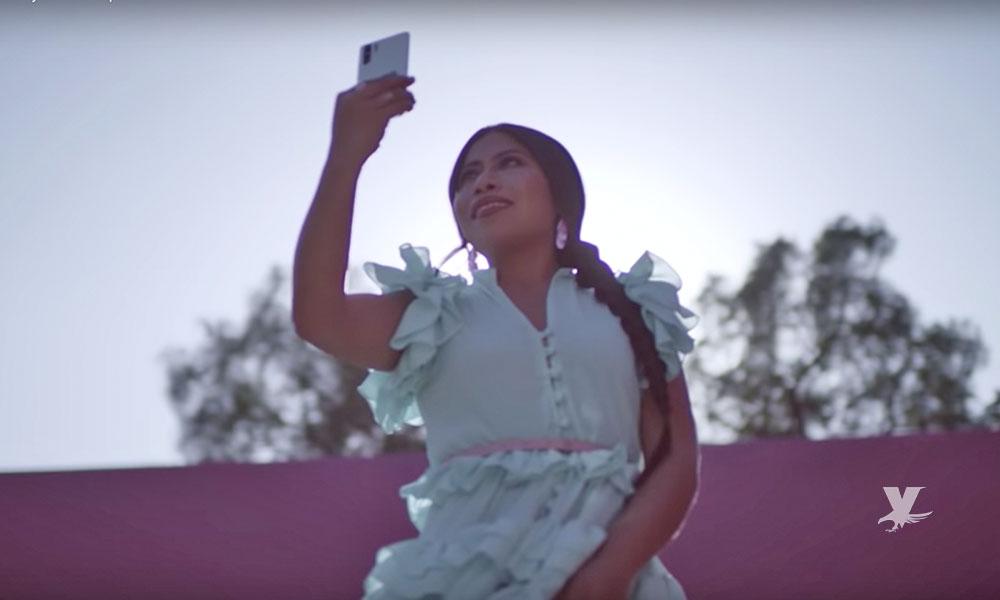 (VIDEO) Yalitza Aparicio se vuelve la imagen principal de una marca de celulares
