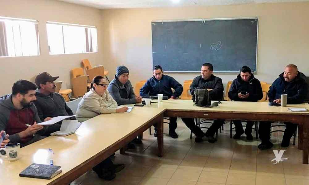 Autoridades se reúnen en Tecate para plantear estrategias de radiocomunicación durante temporada de incendios forestales