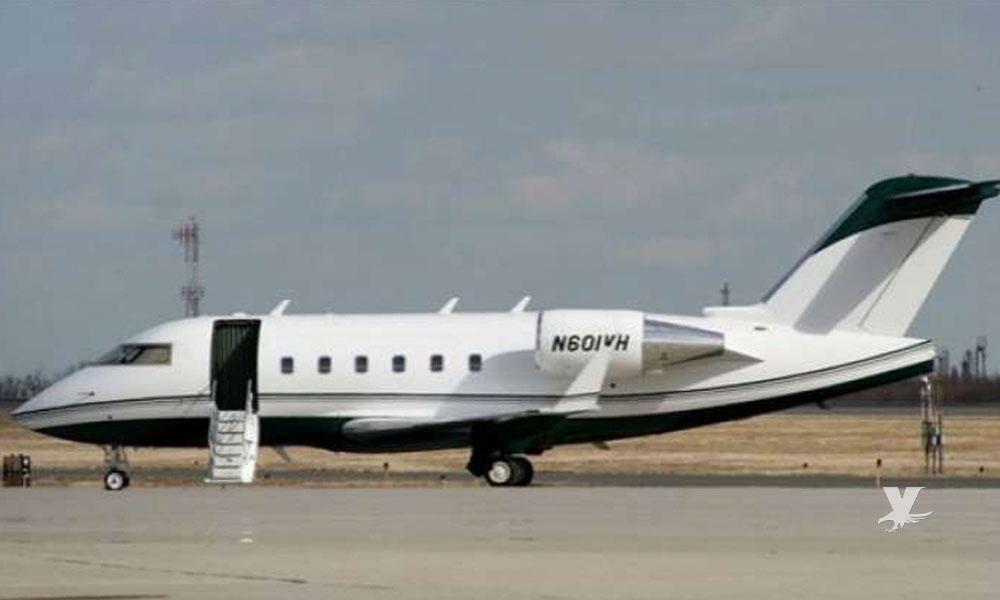 Cae avión con 18 tripulantes que regresaban a Monterrey después de asistir a pelea del 'Canelo'