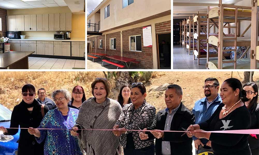 """Inauguran en Tecate """"El Refugio"""" espacio que permitirá albergar a mujeres víctimas de violencia"""