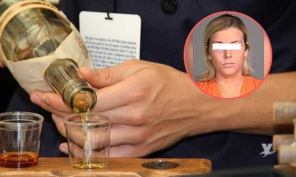 Bartender mujer es arrestada por vender cerveza a persona que mató a 8 personas