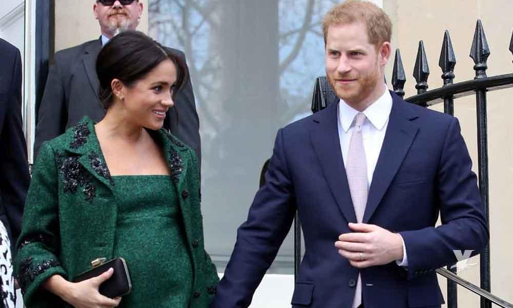 Nace bebé real del príncipe Harry y Meghan