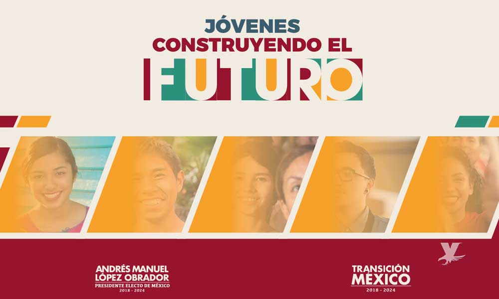 Depositarán los día 13 de cada mes la beca 'Jóvenes Construyendo el Futuro'