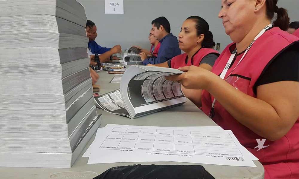 Llegan boletas electorales a Baja California para el proceso electoral 2018-2019