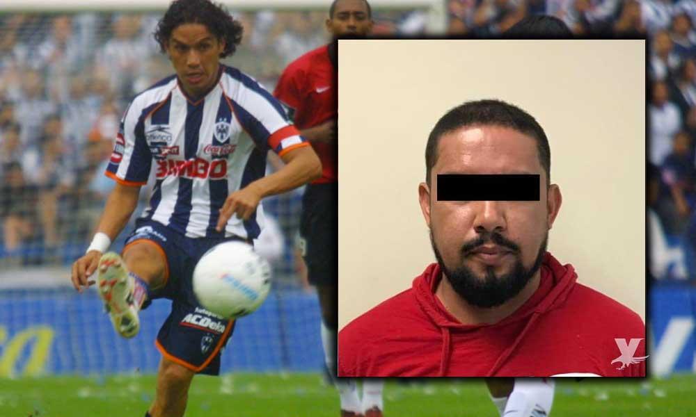 """Detienen y trasladan a prisión al ex futbolista """"Cabrito"""" Arellano acusado de violación"""