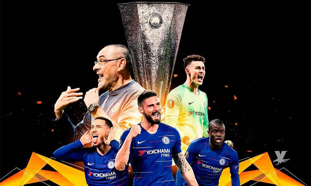 Chelsea derrota al Arsenal y es campeón de la Europa League