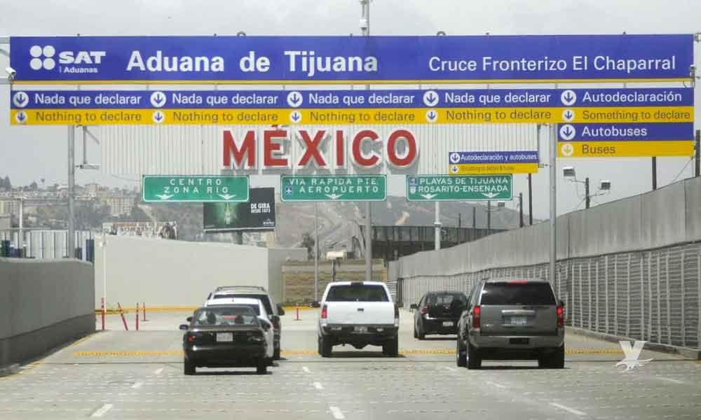 Inician revisiones para todos los autos antes de ingresar a Tijuana desde San Diego
