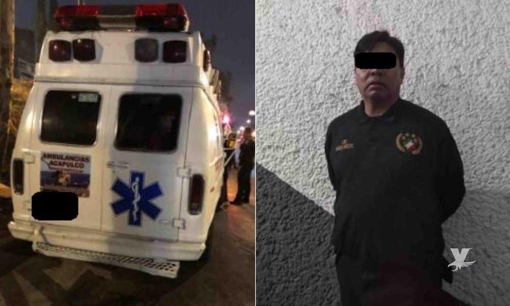 Presuntos paramédicos abusan de una mujer inconsciente dentro de una ambulancia