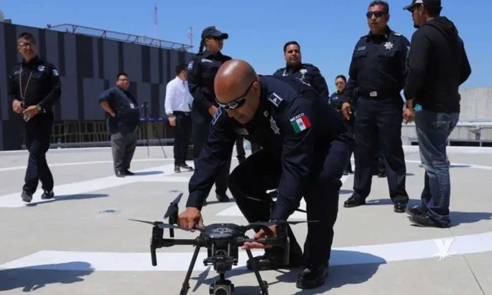 Policías vigilaran Tijuana desde el cielo con drones