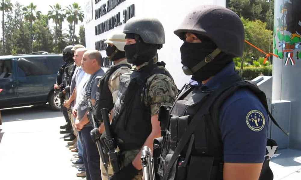 En Mexicali más de 3 mil efectivos vigilarán las casillas durante las elecciones