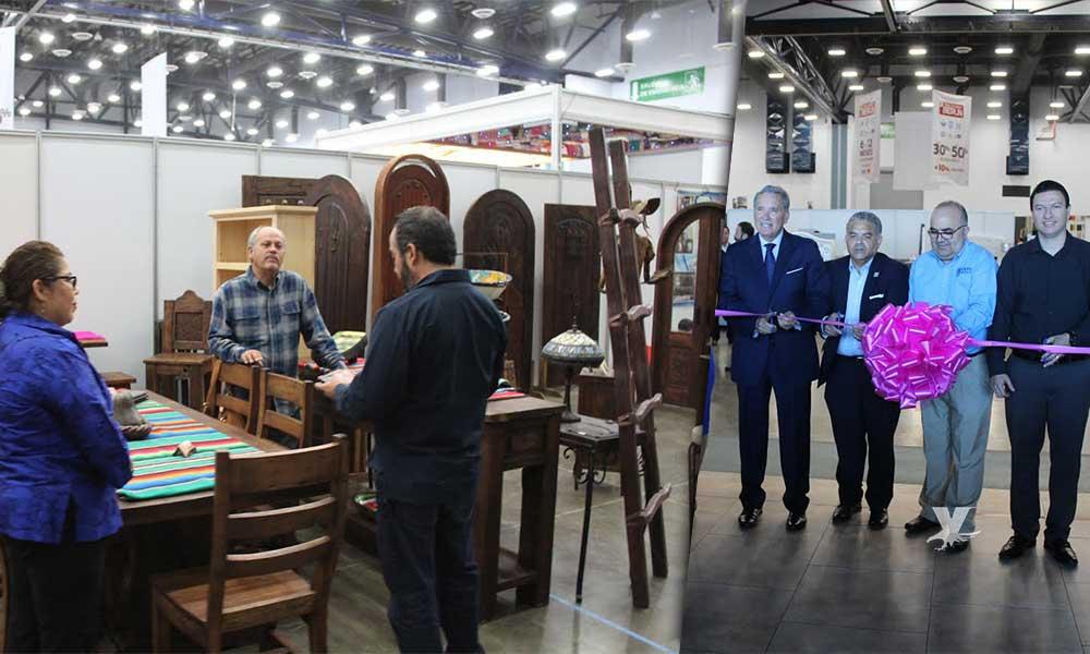 Inauguran la nueva edición de la Expo Mueble en el 'Baja Center' de Rosarito