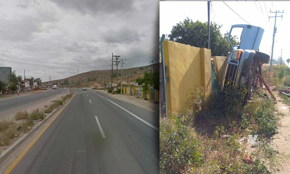 Muere padre e hija en fatal accidente sobre carretera libre Tijuana – Tecate