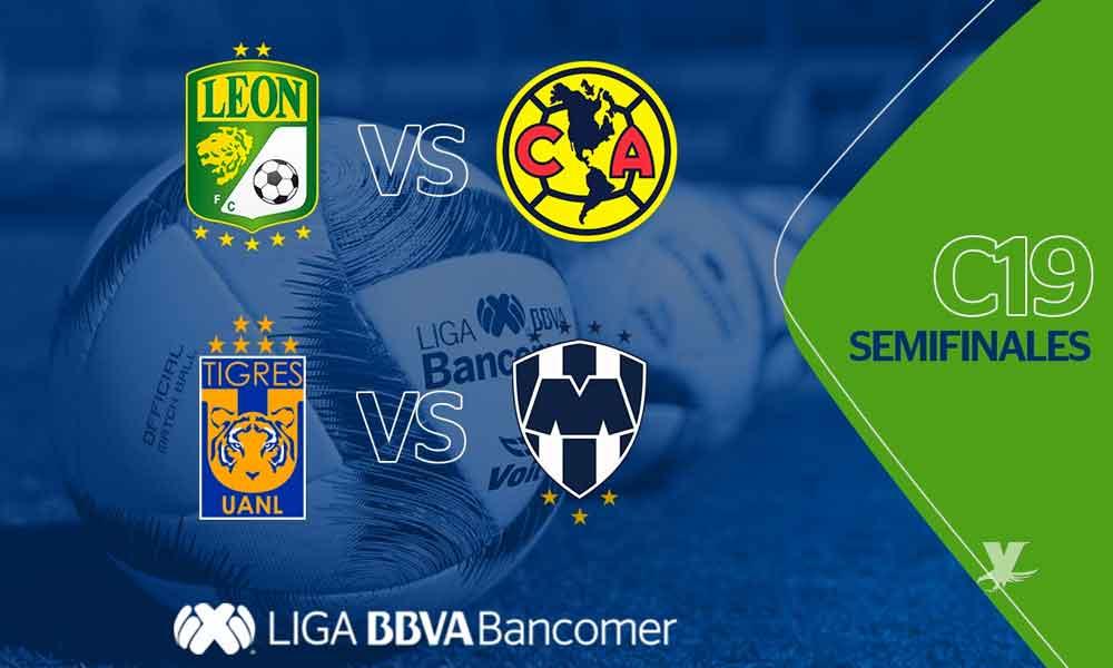 Listo los días y horarios para el Clásico Regio y León-América en las semis de la Liga MX