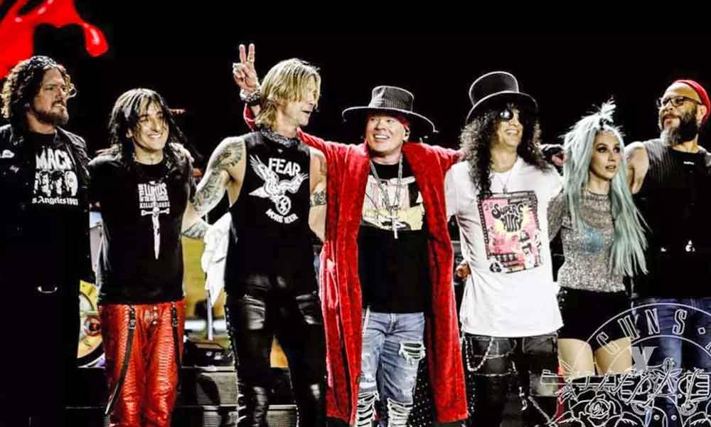 Guns N' Roses se presentará en concierto para Tijuana durante el Fronterizo Fest