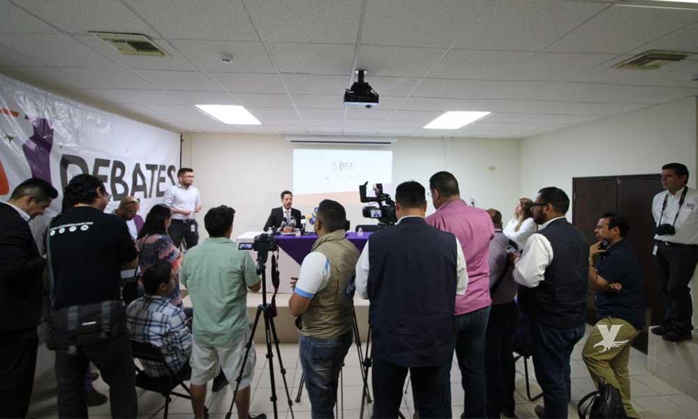 Segundo debate a la Gubernatura será este domingo 12 de mayo en Mexicali