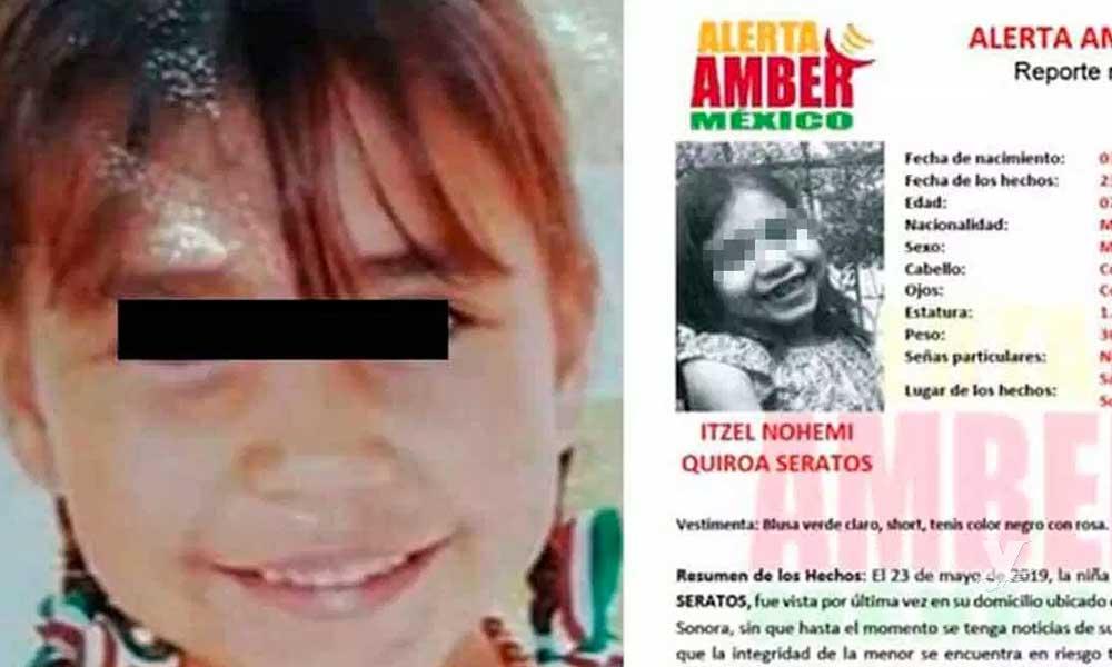 Encuentran cuerpo enterrado de la pequeña Itzel en San Luis Río Colorado
