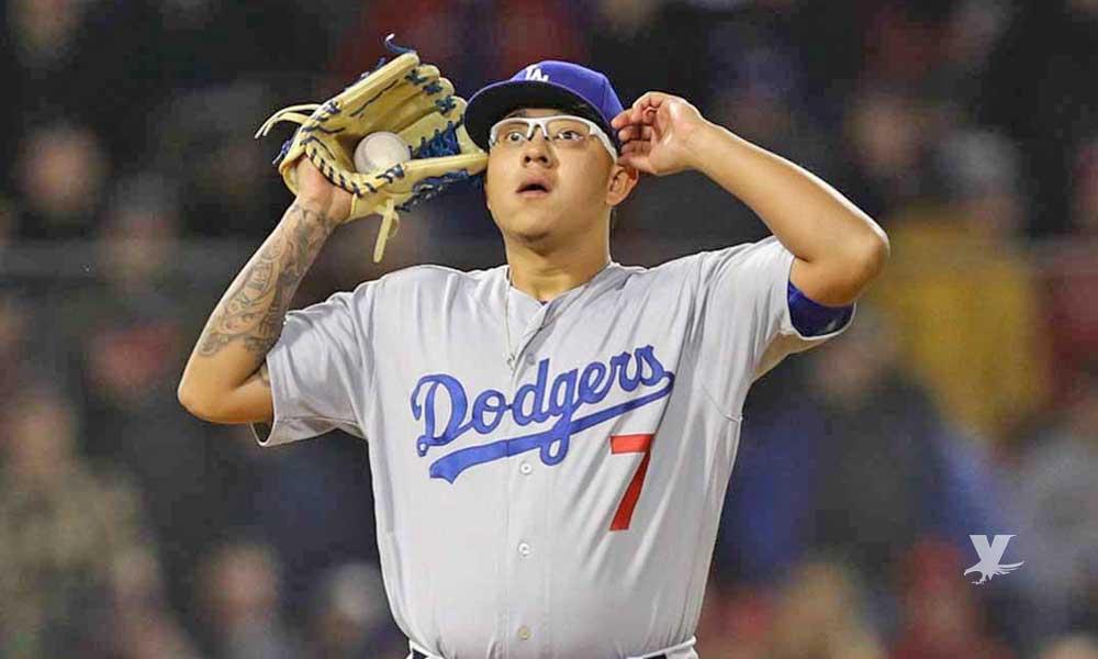 Arrestan al pitcher mexicano de los Dodgers Julio Urías por violencia doméstica