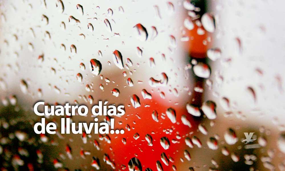Cuatro días de lluvia para Tijuana y Tecate, a partir del domingo