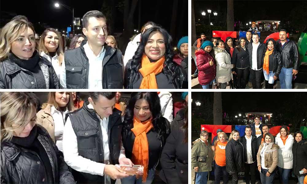 Luis Donaldo Colosio Riojas visitó Tecate en respaldo a las candidatas de Movimiento Ciudadano