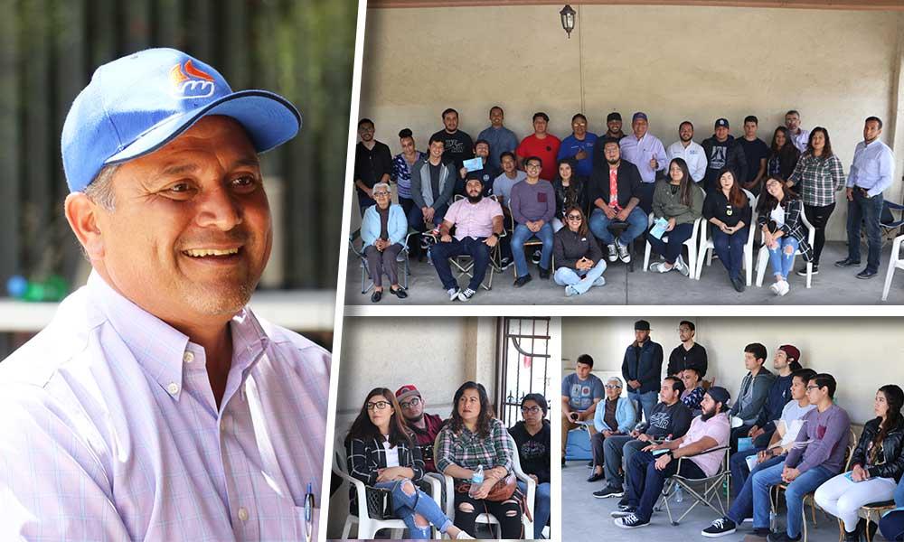 Jóvenes universitarios y emprendedores respaldan el proyecto de #ElProfe Mario Benítez