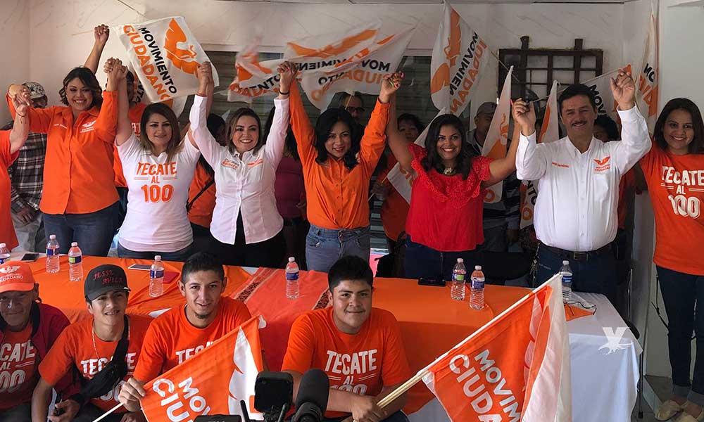 Unidad y seguridad para Tecate y el este de Tijuana: Candidatas de Movimiento Ciudadano
