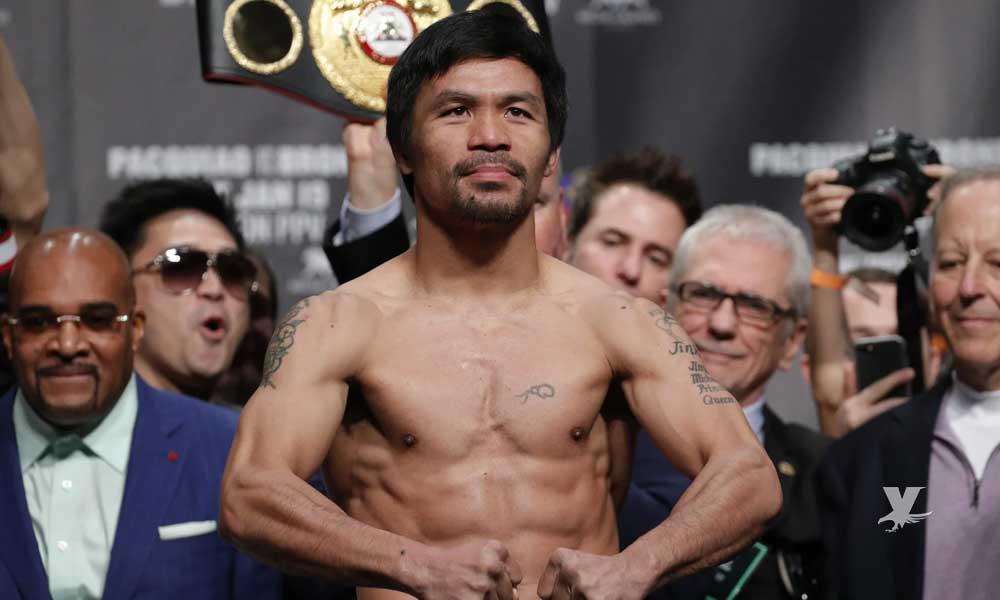 Manny Pacquiao regresa para enfrentar al invicto Keith Thurman