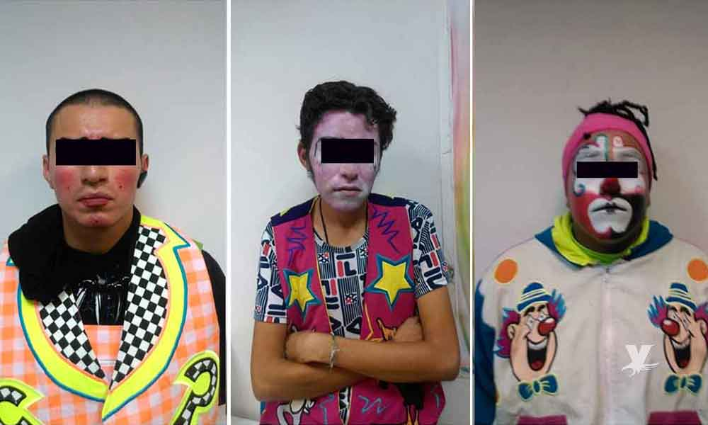 Hombres disfrazados de payasos intentaron secuestrar a una niña