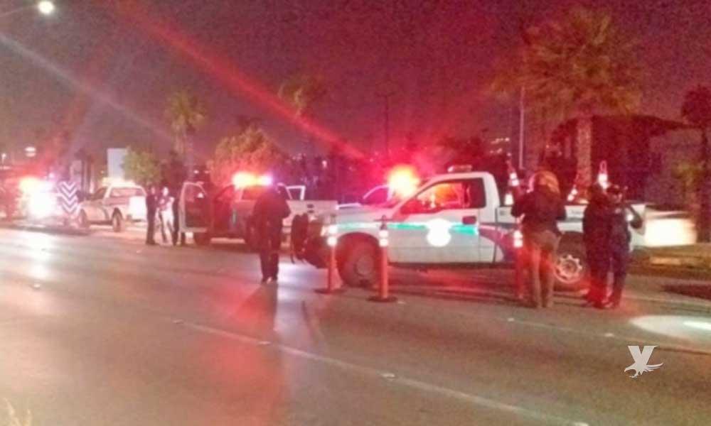 Sujeto dispara contra Policía Municipal de Tijuana en alcoholímetro