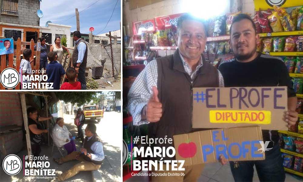 Con las mejores propuestas, 'El Profe' Mario Benítez se declara listo para el debate electoral por el Distrito VI