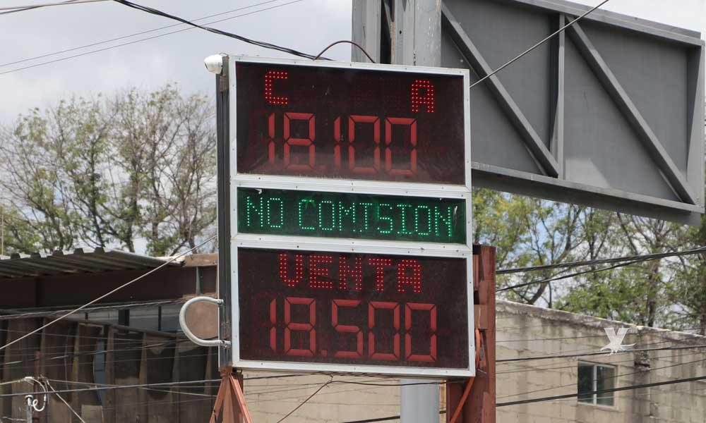 El Dólar hoy en Tecate; tipo de cambio