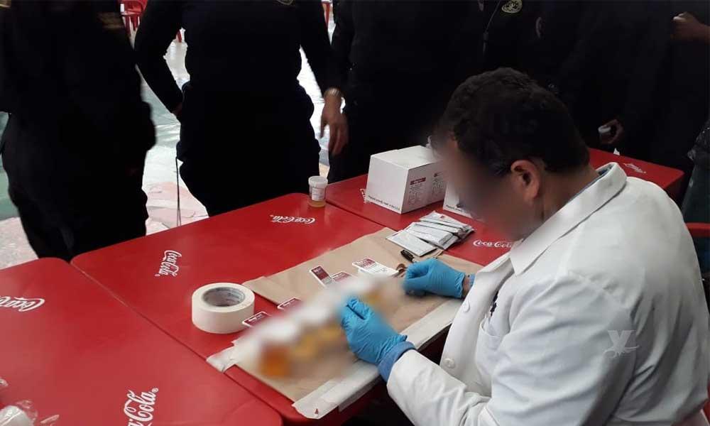 """Aplican exámenes toxicológicos a policías de seguridad y custodia de """"El Hongo"""" en Tecate"""