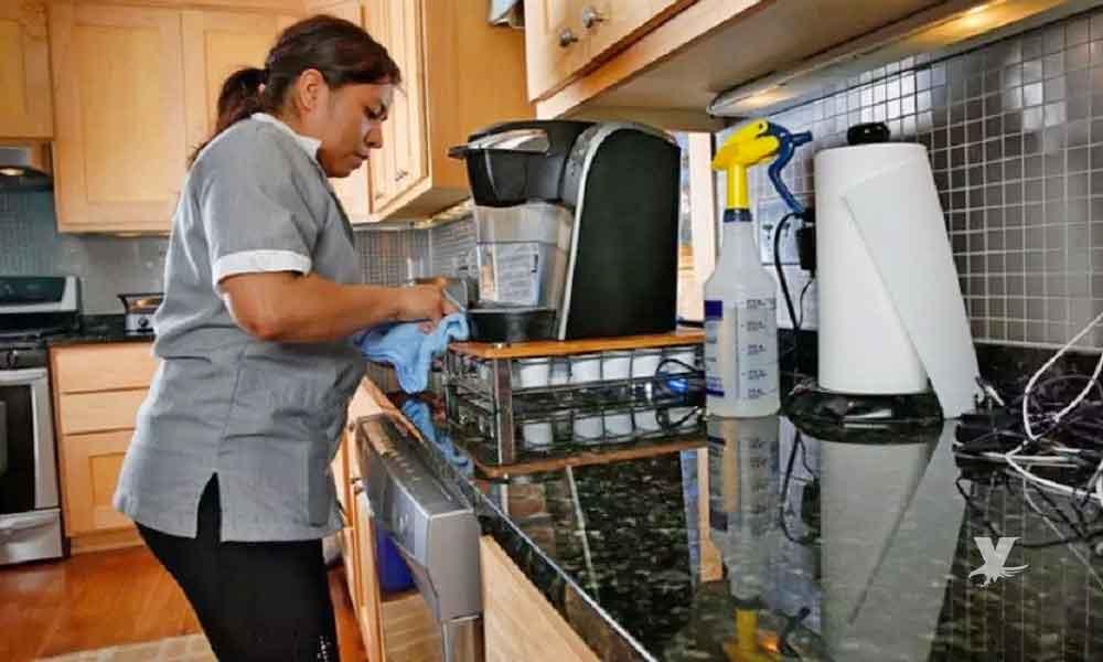 Trabajadoras del hogar tendrán salario fijo de $3,080 pesos