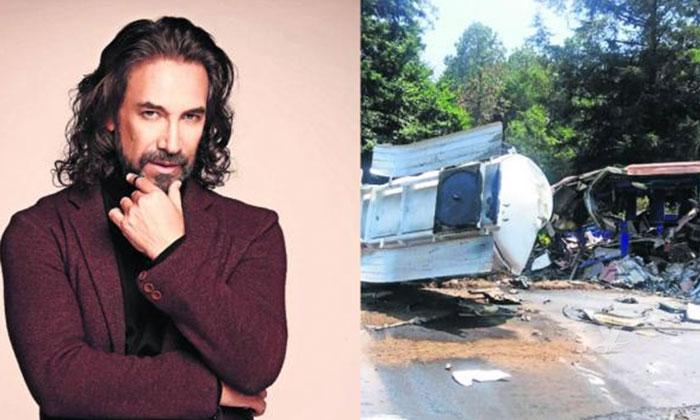 Grave accidente deja muerto a chofer de autobús del Buki
