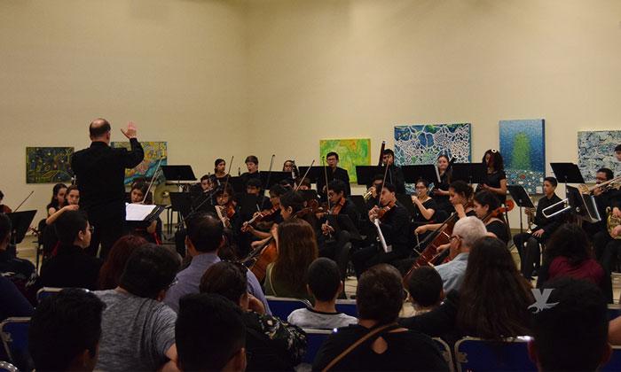 Se presenta sinfónica juvenil de Tijuana en CEART Tecate