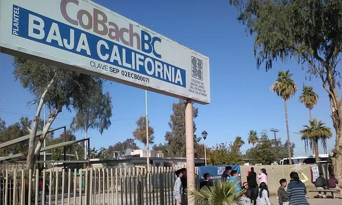 Podrían irse a paro de labores los 31 planteles de COBACH en Baja California
