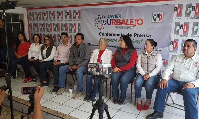 Javier Urbalejo se encuentra listo para su participación en el debate
