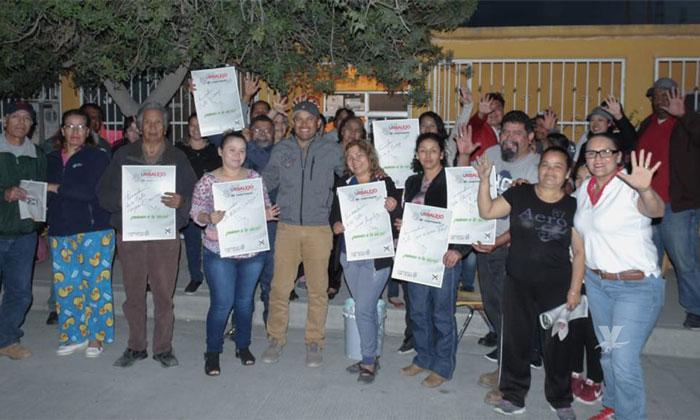 Yo soy quien tiene la experiencia para cumplir las obras solicitadas por la comunidad: Javier Urbalejo