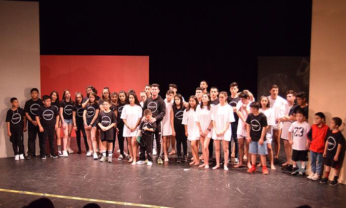 Presenta ICBC Tecate puesta en escena con alumnos del grupo Bruckers Circus