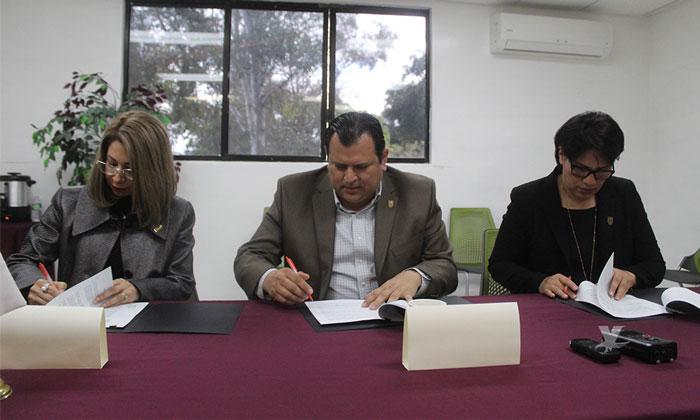 Firman UABC y CDET convenio para favorecer el desarrollo de los jóvenes universitarios y de Tecate