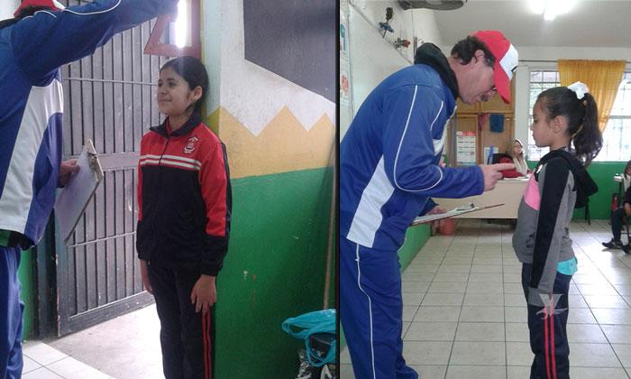 SEE realiza evaluación del Índice de Masa Muscular en alumnos de educación básica en Tecate