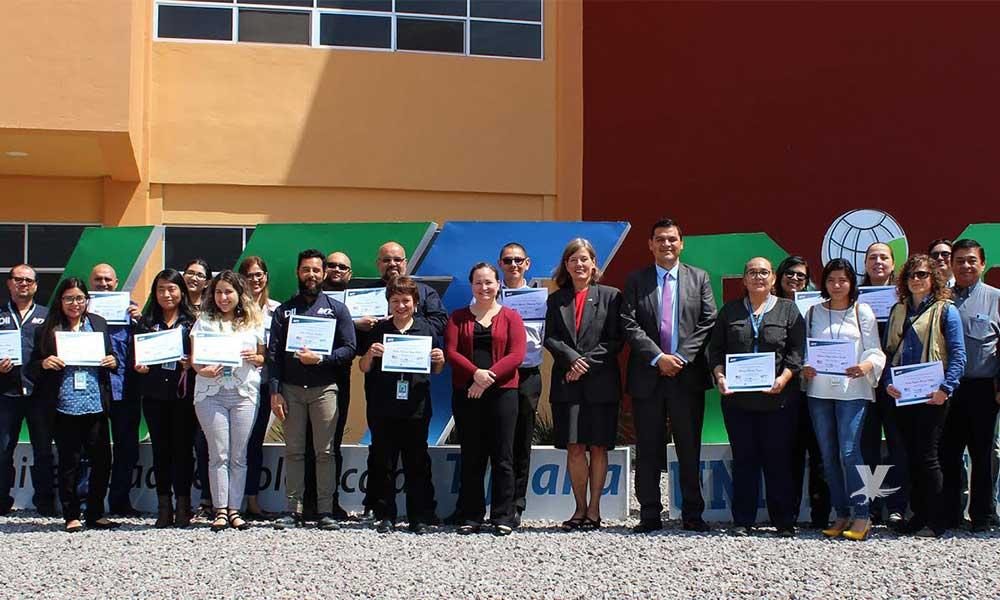 Reconoce embajada de EEUU a profesores de la UTT por su programa bilingüe