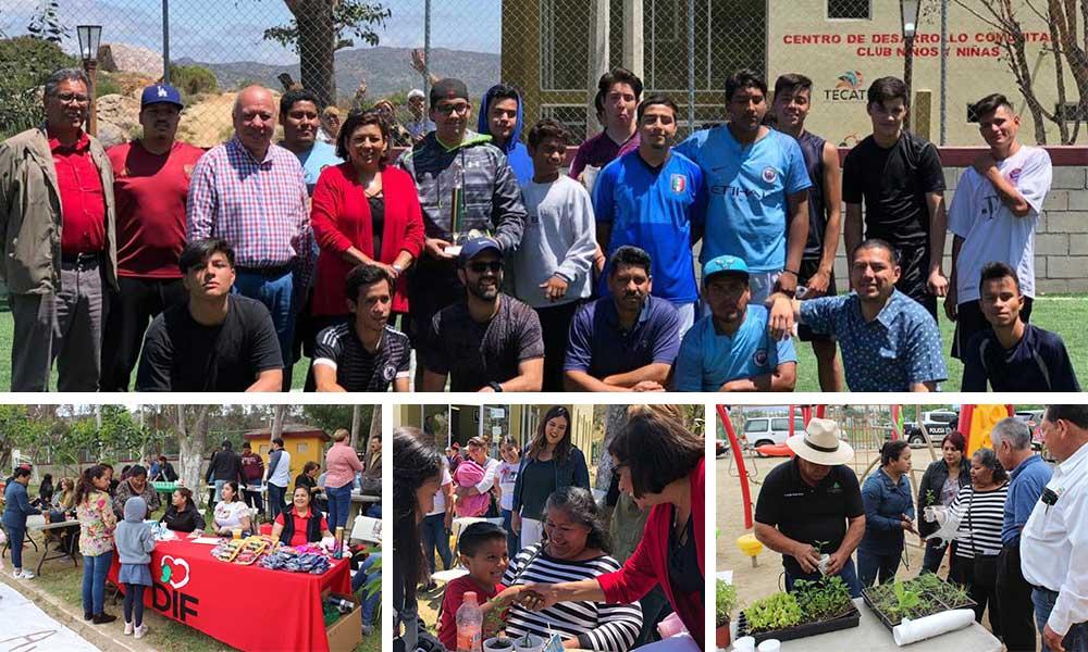 Lleva el Ayuntamiento de Tecate Activación Comunitaria Fracc. Santa Anita