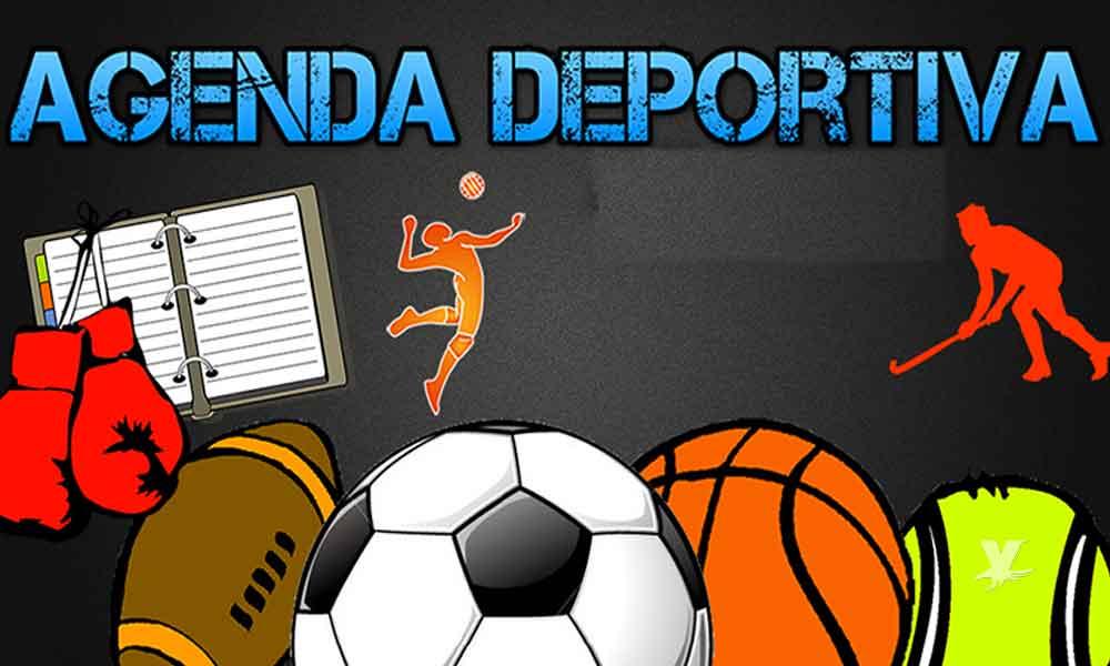 Sábado deportivo, aquí la agenda completa