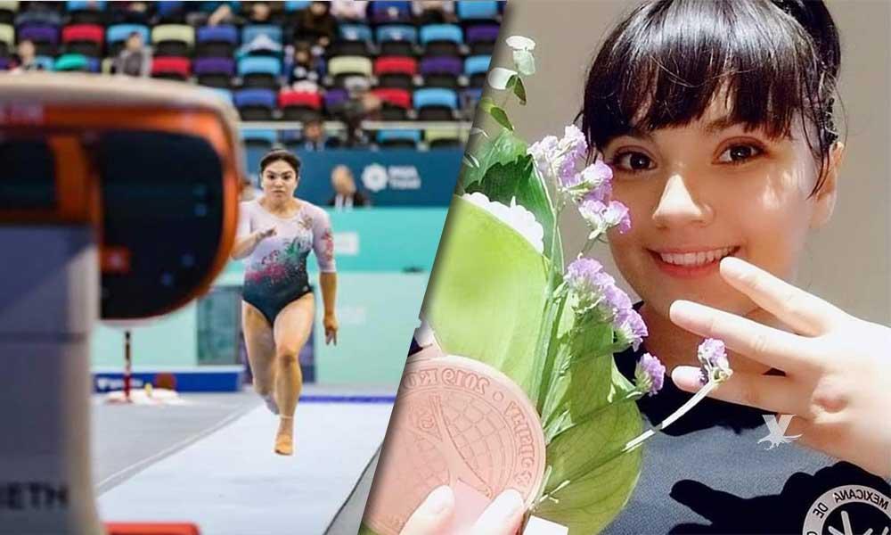 Alexa Moreno obtiene bronce en Corea